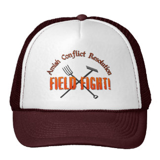 Amish Conflict Resolution Hats