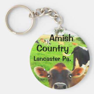 Amish Country Cows! Lancaster Key Ring