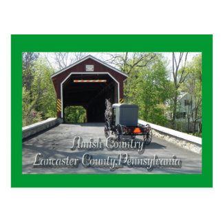 Amish Country _ Postcard