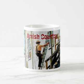 Amish Country Workman Mug