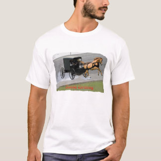 Amish Drifting T-Shirt