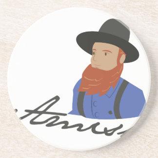 Amish Drink Coaster