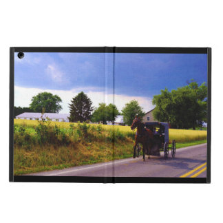 Amish Family Racing the Storm iPad Air Cases