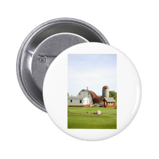 Amish Farm Pinback Button