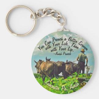 Amish Farmer Keychain!