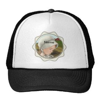 Amish Girl Bonnet Mesh Hat