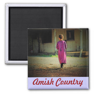 Amish Girl Magnet