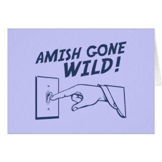 Amish Gone Wild! Greeting Card