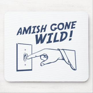 Amish Gone Wild! Mousepads