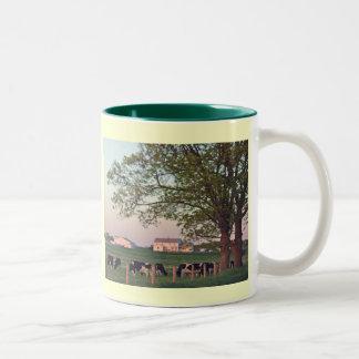Amish Homestead Two-Tone Coffee Mug