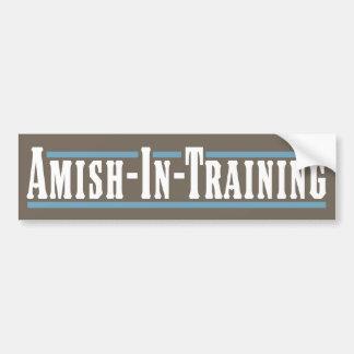 Amish-In-Training Bumper Sticker