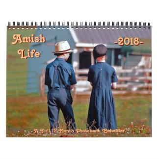 Amish Life Calendar