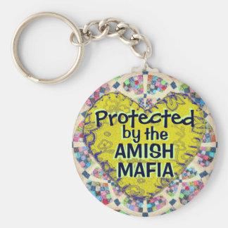 Amish Mafia Protection Keychain