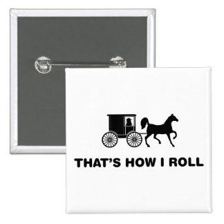Amish Pinback Buttons