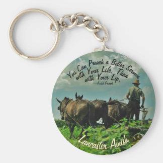 Amish Proverb Keychain! Lancaster Amish!