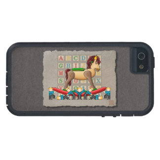 Amish Rocking Horse iPhone 5/5S Covers