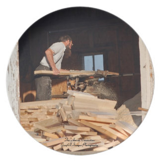 Amish Sawmill Party Plates