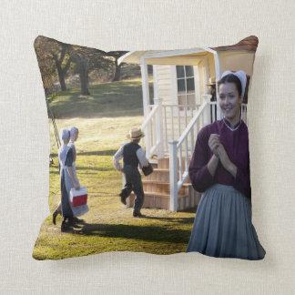 Amish School Days Cushion