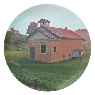 Amish School House Party Plates