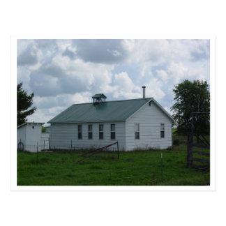 Amish School Postcard
