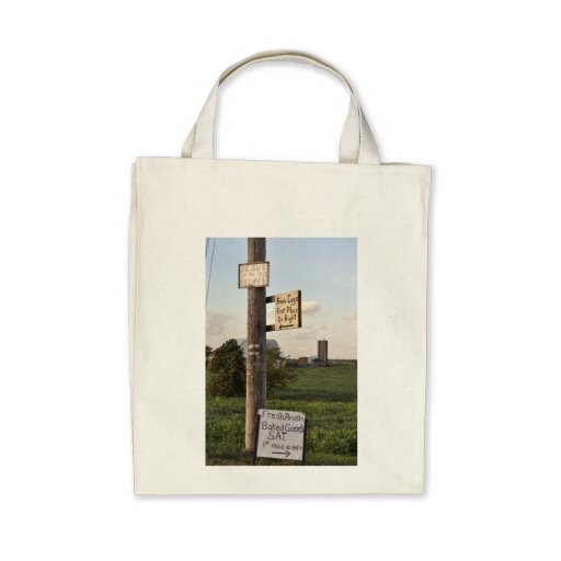 Amish Signs Tote Bags
