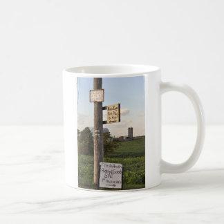 Amish Signs Basic White Mug