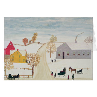 Amish Village Greeting Cards