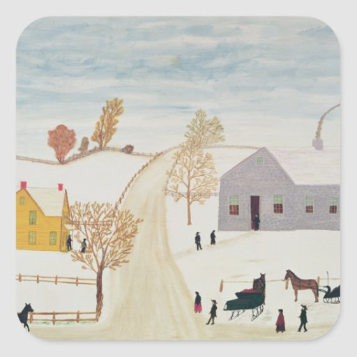 Amish Village Sticker