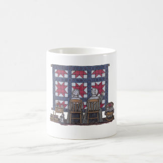 Amish Women Quilting Coffee Mugs