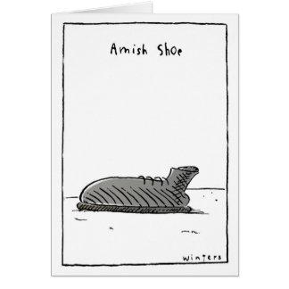 AmishShoe Card