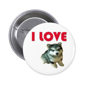 Amo cachorro boton