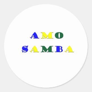 Amo Samba Sticker