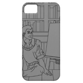 Among the books iPhone 5 cover