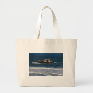 Among the Echoes Large Tote Bag