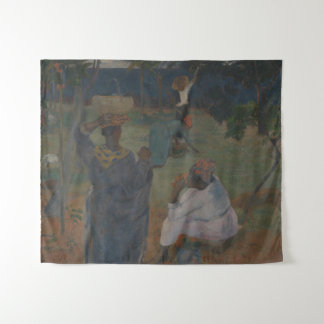 Among the Mangoes by Paul Gauguin Tapestry