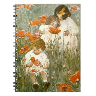 Among the Poppies 1904 Notebook