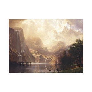 Among The Sierra Nevada Mountains Canvas Print