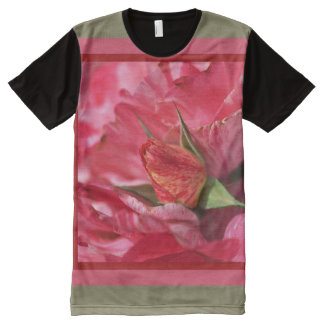 Amongst The Rose Petals Shirt by bubbleblue All-Over Print T-Shirt
