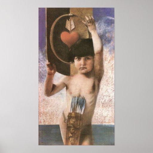 Amor by Franz von Stuck Posters
