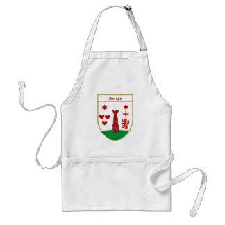 Amor Coat of Arms/Family Crest Standard Apron