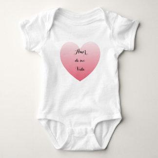 Amor de mi vida -for baby baby bodysuit