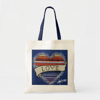 Amor del Corazon Tote Bags