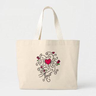 Amor Jumbo Tote Bag