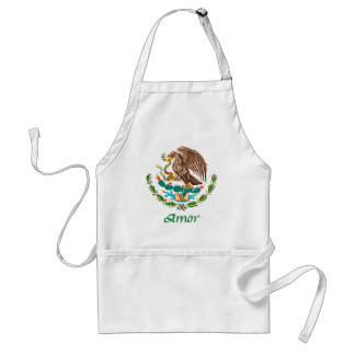Amor Mexican National Seal Apron