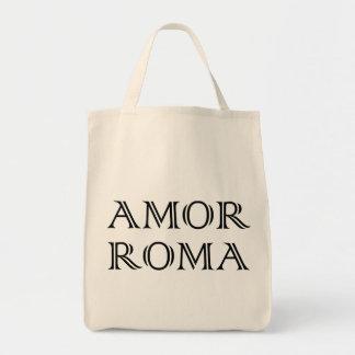 Amor Roma Liebe Rom love rome Einkaufstasche