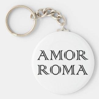 Amor Roma love Rome love rome Key Chain