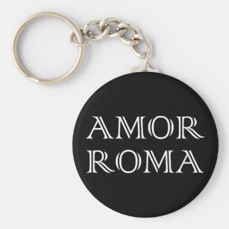 Amor Roma love Rome love rome Keychain