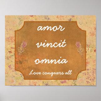 Amor Vincit Omnia -- Art Print