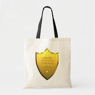 Amor Vincit Omnia Budget Tote Bag