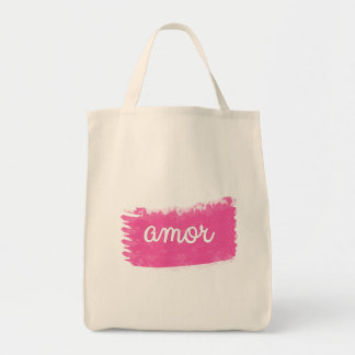 Amor with a Swipe of Pink Bag